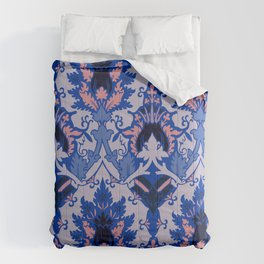 Gothic floral Comforters