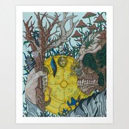 Invasive Species Art Print