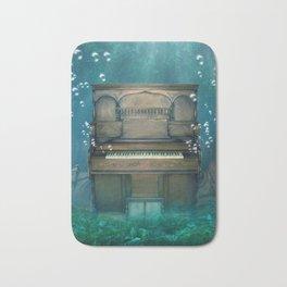 Submerged Piano Bath Mat
