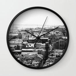 Lisbon, Portugal (3) Wall Clock