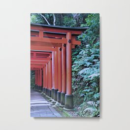 Inari Gates Galore Metal Print