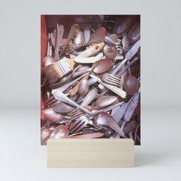 ARAGO SILVERWARE Mini Art Print
