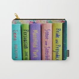 Jane Austen Library Carry-All Pouch