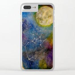 Saggitarius Clear iPhone Case