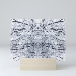 Caught in a Snowstorm Mini Art Print