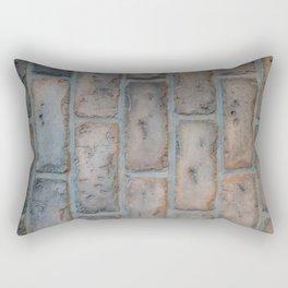 Vertical bricks Rectangular Pillow