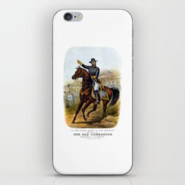 General US Grant -- Our Old Commander iPhone Skin