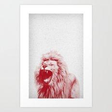 Lion 01 Art Print
