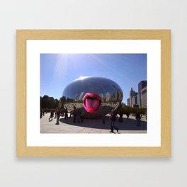 Taste of Chicago Framed Art Print