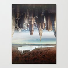 Seperation of state Canvas Print