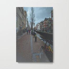 Mysterious Amsterdam Metal Print