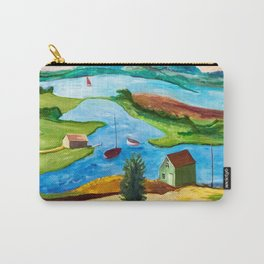 Whimsical Harbour Carry-All Pouch