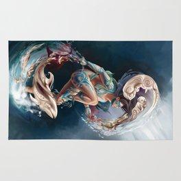 Sedna: Inuit Goddess of the Sea Rug