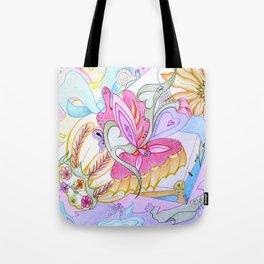 Fantasy Present Tote Bag
