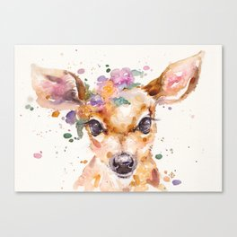 Little Deer Canvas Print