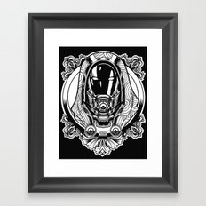 Mass Effect. Thali Zora Framed Art Print
