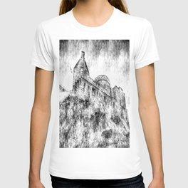 Edinburgh Castle Vintage T-shirt