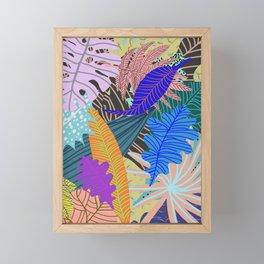 Lush Leaves 2 Framed Mini Art Print