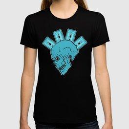 Blue Tape Skull T-shirt
