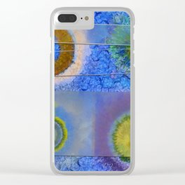 Unparalysed Unconcealed Flowers  ID:16165-032529-06851 Clear iPhone Case