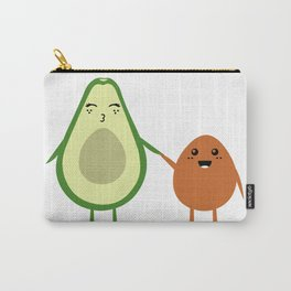 AVOCADO MOMMY AND AVOCADO KID Carry-All Pouch