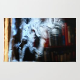 Painting with Smoke - Crazy Professor Rug