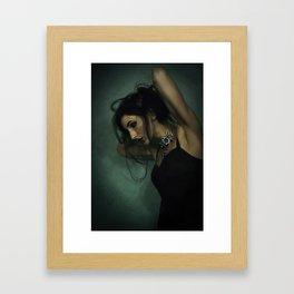 Draped Over a Feeling Framed Art Print