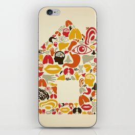 Body the house iPhone Skin