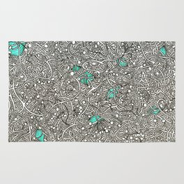 Diamonds in the Roughage Rug