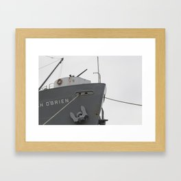 Lady of the Boat Framed Art Print
