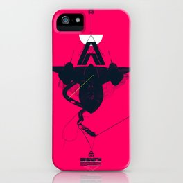 STEALTH:SR-71 Blackbird iPhone Case
