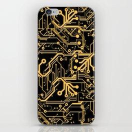 Techno Organic  iPhone Skin