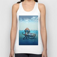 finding nemo Tank Tops featuring Nemo by Tony Vazquez