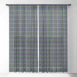 MacCraig Tartan Plaid Sheer Curtain
