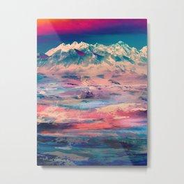 Dusky Mountain Metal Print