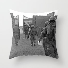 Oscar Mike (please read description for this pic) Throw Pillow