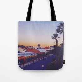Old Town Twilight Tote Bag