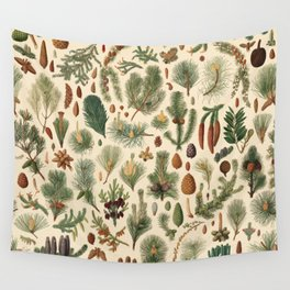 Vintage Pinecones Designs Collection Wall Tapestry
