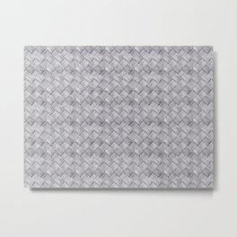 Woven Pattern Metal Print