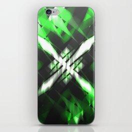 Metallic X iPhone Skin