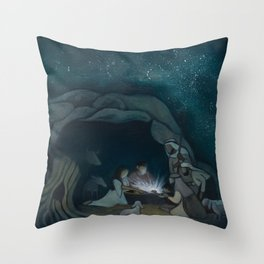 The Great Announcement Throw Pillow