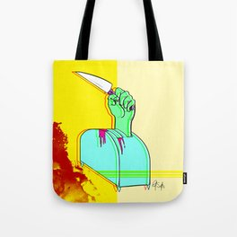 Hand Toaster Tote Bag