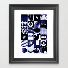 Monkey Mash Framed Art Print