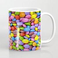 saga Mugs featuring Candy Crush Saga by ArtSchool