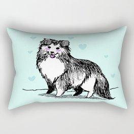 A Very Good Boy Rectangular Pillow