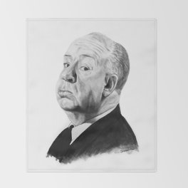 Alfred Hitchcock Throw Blanket