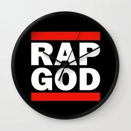RAP GOD Wall Clock