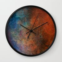 chameleon Wall Clocks featuring Chameleon by Bestree Art Designs