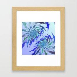 flametime -1- Framed Art Print