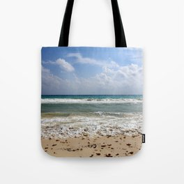 Playa del Carmen Beach Tote Bag